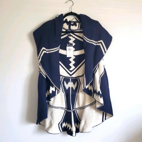 Plus Size Chaps Cowl Neck Sweater Vest